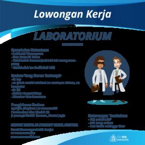 LOWONGAN KERJA – LABORATORIUM